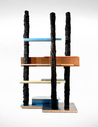 NUCLEO_Souvenir of the last century - UPCYCLED MEMPHIS bookshelf 2012_anteprima website