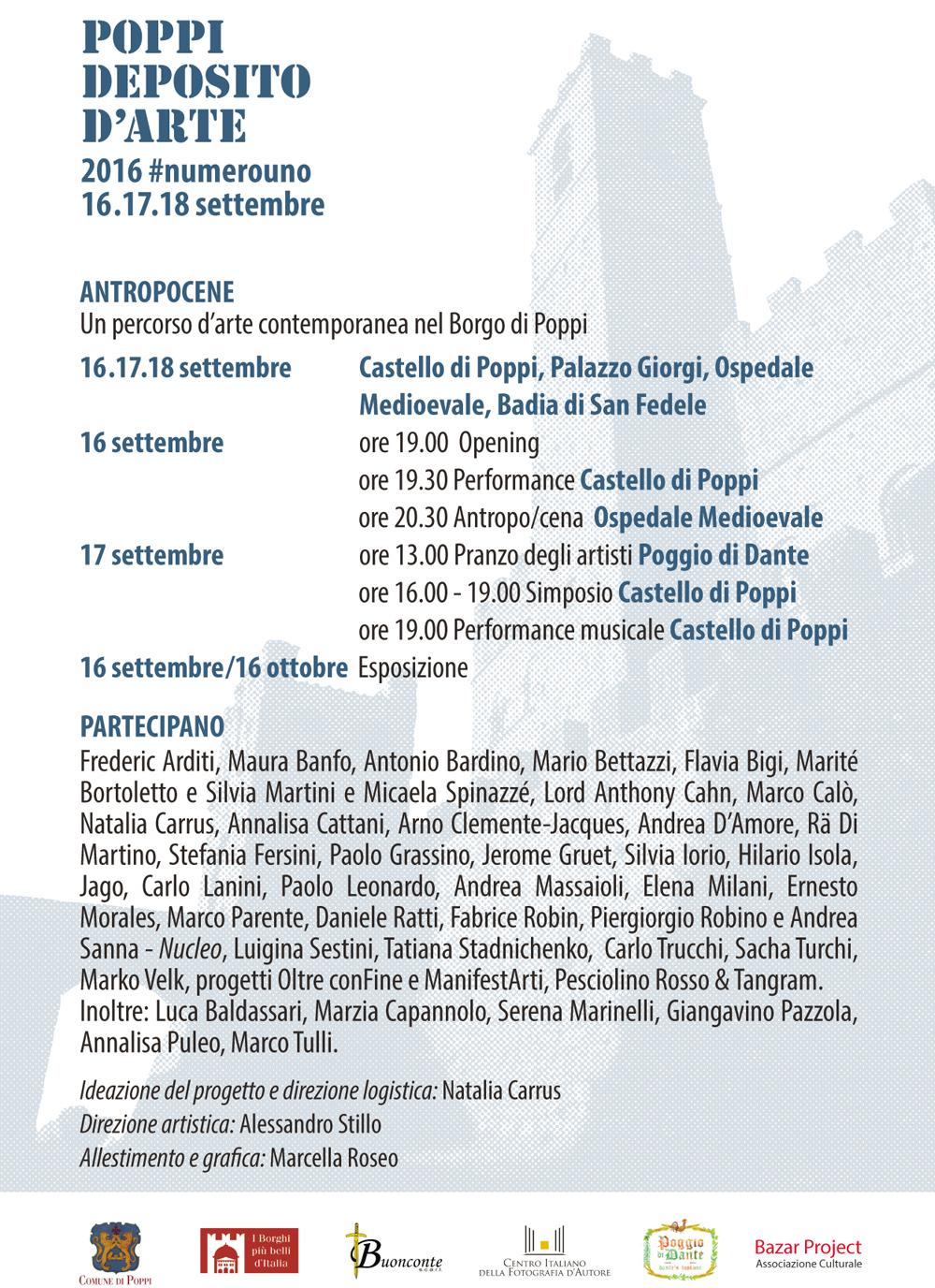 CARTOLINA POPPI 2016
